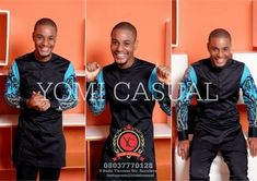 Yomi  Casual  creatively portrays the trans-generational appeal of his new  collection by the fashionable men that modeled his styl...