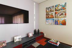 Open house   Irene Alves. Veja: http://www.casadevalentina.com.br/blog/detalhes/open-house--irene-alves-3168 #decor #decoracao #interior #design #casa #home #house #idea #ideia #detalhes #details #openhouse #style #estilo #casadevalentina #livingroom #saladeestar