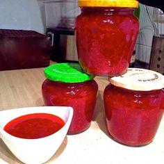 RECETA FITNESS/ Mermelada natural de frambuesas sin azúcar.
