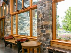 Boston Blend Ashlar Thin Veneer is roughly rectangular in shape. The stone face has been split revealing the vibrant colors of the stones inner grain. Thin Stone Veneer, Stone Columns, Fireplace Surrounds, Business Design, Brewery, The Hamptons, New England, Natural Stones, Outdoor Living
