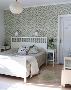 Village Inn, Simple Furniture, Inspirational Wallpapers, Vintage Country, Cozy House, Wall Murals, Toddler Bed, Minimalist, Interior Design