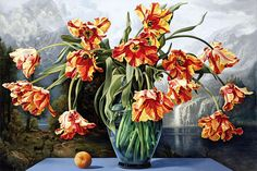 Sherrie Wolf: Parrot Tulips, 2006 Oil on canvas