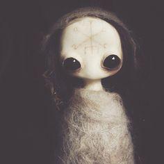 mahlimae art doll | sculpture | work in progress | fae