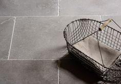 Our latest addition to our Limestone range is this gorgeous grey stone - the Dove Grey Tumbled Limestone. A hard-wearing stone, it's ideal for use in kitchens, hallways and bathrooms. Stone Tile Flooring, Flagstone Flooring, Natural Stone Flooring, Grey Flooring, Kitchen Flooring, Flooring Ideas, Floors Of Stone, Concrete Floors, Porch Tile