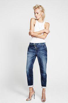 Milva Jean #2015 #boyfriend #denim #fashion #jeans #raffaellorossi #spring #summer #trends