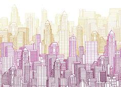 Skyline by gabrijoy | Threadless
