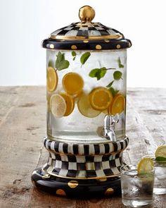 Pandora's Box: My Mackenzie-Childs Knockoff Beverage Dispenser