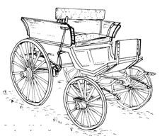 HORSEDRAWN DOCTORS BUGGY (Late 1800s-Early 1900s) HORSE
