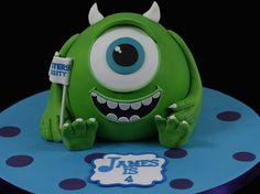 Mike | Monsters University / Monsters Inc. Cake