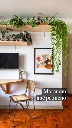 Small Apartment Living, Cozy Apartment, Condo Living, Apartment Interior Design, Interior Design Tips, Creative Decor, Creative Home, My Dream Home, Boho Decor