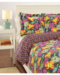 Vera Bradley Bedding Sets - Home Furniture Design Queen Comforter Sets, Bedding Sets, Crib Bedding, Luxury Bedding Collections, Dream Rooms, Cool Rooms, New Room, Bed Sheets, Home Furniture
