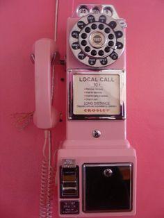 Pink Public Phone