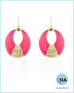 DAILY WEAR #MySiaLook  Buy this preetier neon colour ear piece only on www.siajewellery.com
