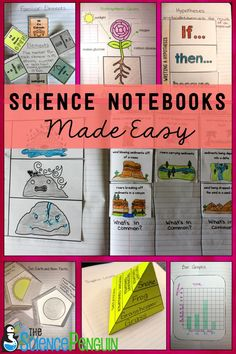 Thousands of students in 3rd-5th grade are using the All in One Science Notebook! Find it on TpT from The Science Penguin.