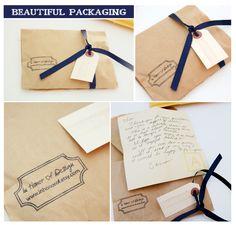 simple & pretty packaging