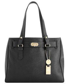 Tommy Hilfiger Handbag, Heritage Flag Tag Medium Saffiano Leather Tote  Web ID: 900630 3.8 / 5 6 reviews Reg. $178.00 Sale $132.99
