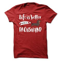 DACHSHUND Better T-Shirts, Hoodies. ADD TO CART ==► https://www.sunfrog.com/Pets/DACHSHUND_Better.html?id=41382