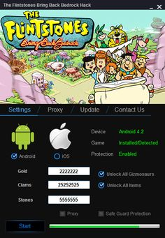 The Flintstones Bring Back Bedrock Hack  The Flintstones Bring Back Bedrock Hack (Android/iOS) - HacksBook http://www.hacksbook.com/the-flintstones-bring-back-bedrock-hack-cheats/