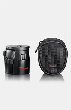 Tumi Grounded Electric Travel Adaptor with Ballistic Nylon Case available at #Nordstrom