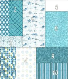 Two different ways to make a pieced quilt backing.