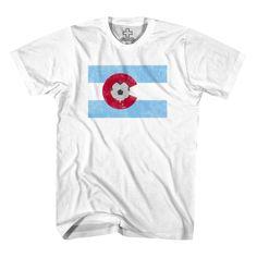 ddff9ce6b Colorado Soccer Flag T-Shirt-2xl Soccer Flags, Colorado Rapids, Cool Tees