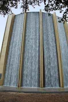 Williams Waterwall. Houston, Texas.--- this is soooo awesome but you actually have to get out of vehicle and walk thru to appreciate the beauty/intensity : )