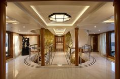inside the Atessa iv private yacht. #luxurious #lifestyle