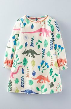 67d764aba47b90 Mini Boden 'Florasuarus' Smock Dress (Toddler Girls, Little Girls & Big  Girls) - ShopStyle