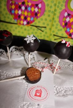 Alexa´s Köstlichkeiten: Spekulatius Cake Pops