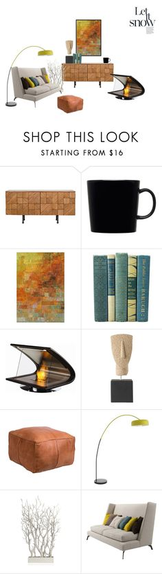 """""""Senza titolo #575"""" by lajudy ❤ liked on Polyvore featuring interior, interiors, interior design, home, home decor, interior decorating, iittala, Kohler, EcoSmart Fire and cozycabin"""