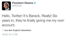 How to launch your brand new Twitter account (check out @POTUS)