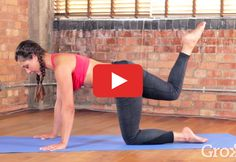 Just press play and follow along for a killer, 30-minute butt burner—no equipment necessary! https://greatist.com/move/yoga-pilates-butt-workout