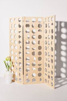 Pezzi UO Exclusive Cutout Shapes Room Divider | Urban Outfitters | $680