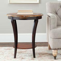 Safavieh Harrison Beidermeir Round Side Table AMH4008A