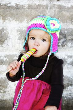 Shop for on Etsy, the place to express your creativity through the buying and selling of handmade and vintage goods. Earflap Beanie, Crochet Hats, Trending Outfits, Children, Unique Jewelry, Handmade Gifts, Photography, Vintage, Etsy