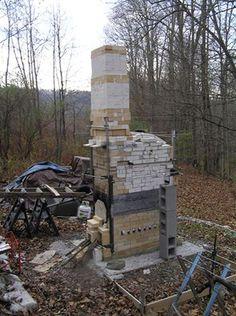Jeff Nokes, NJ mini fastfire wood-fired kiln.