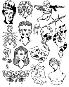 retro tattoo \ retro tattoo ` retro tattoo ideas ` retro tattoo vintage ` retro tattoo old school ` retro tattoo ideas vintage ` retro tattoo for women ` retro tattoo sleeve ` retro tattoo designs vintage Flash Art Tattoos, Dope Tattoos, Unique Tattoos, Body Art Tattoos, Hand Tattoos, Small Tattoos, Tattoos For Guys, Tatoos, Tattoo Flash Sheet