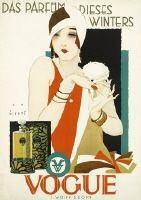 Wiertz, Jupp (Vogue Parfüm) 112 Das Parfüm dieses Winters - Vogue F. Wolff & Sohn, Karlsruhe. Entwurf Jupp Wiertz, Deutschland 1926/27.