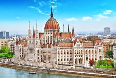Discover the best things to do in Budapest, Hungary including Gellert Hill, Memento Park, Fisherman's Bastion, and St. Beautiful Places In The World, Places Around The World, Around The Worlds, Beautiful Architecture, Beautiful Buildings, Budapest Travel, Prague Travel, Budapest Things To Do In, Tourist Spots