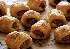how to make sausage rolls without puff pastry