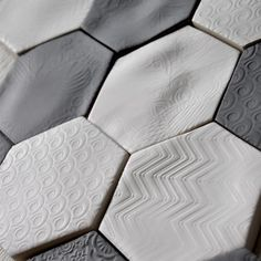 Barcelona Series Honeycomb Tiles from Mettro Source. Check out more Honeycomb finds on my website!