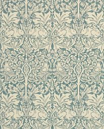 Brer Rabbit Indigo/Vellum fra William Morris & Co