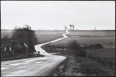 Henri Cartier-Bresson, Paysage Nord-Pas-de-Calais, 1977.
