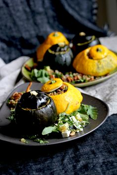 Stuffed pattypan and #GemSquash // From Hand To Mouth