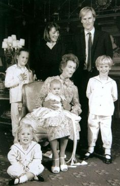Percy Family. Duke of Northumberland with his family.