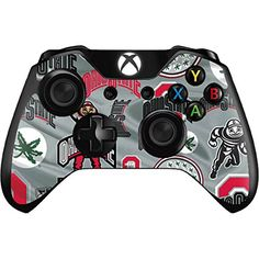 Ohio State University Xbox One Controller Skin  Ohio State Pattern Vinyl Decal Skin For Your Xbox One Controller ** You can get more details by clicking on the image.Note:It is affiliate link to Amazon.
