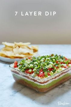 26 Southern Recipes Everyone on Earth Should Make - 7 Layer Dip (plus 25 other Southern Recipes Everyone on Earth Should Make). Dip Recipes, Appetizer Recipes, Mexican Food Recipes, Snack Recipes, Cooking Recipes, Snacks, Macro Recipes, Jalapeno Recipes, Tailgating Recipes