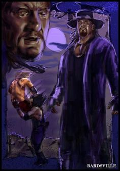 Wwe Wrestlemania 34, Undertaker Wwf, Wwe Wallpapers, Celebrity Caricatures, Speed Paint, Airbrush Art, Wwe Wrestlers, Dead Man, Wwe Superstars