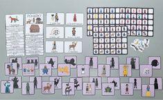 Bude, Pinocchio, Bingo, Safari, Photo Wall, Frame, Decor, Picture Frame, Photograph