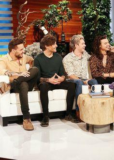 The boys on the Ellen Show